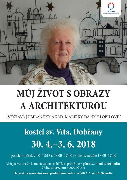 výstava, obrazy, architektura
