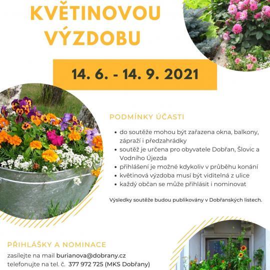 soutěž květiny