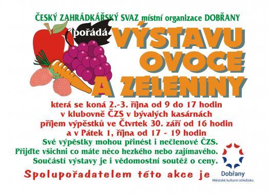výstava ovoce azeleniny