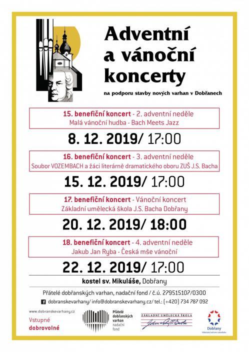 adventní , vánoční koncerty